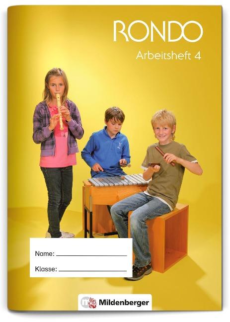 RONDO 3/4 - Arbeitsheft 4, Neuausgabe - Christian Crämer, Wolfgang Junge, Sabine Schaal