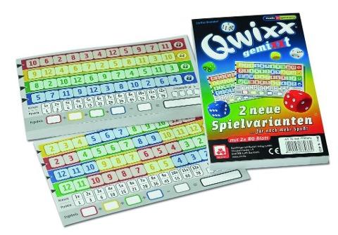 Qwixx gemiXXT - 2er Set Zusatzblöcke -