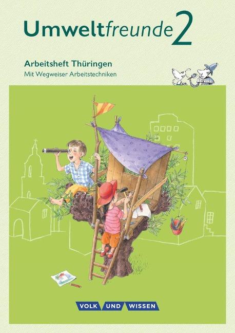 Umweltfreunde 2. Schuljahr. Arbeitsheft Thüringen - Ulrich Gard, Inge Koch, Bernd Willems