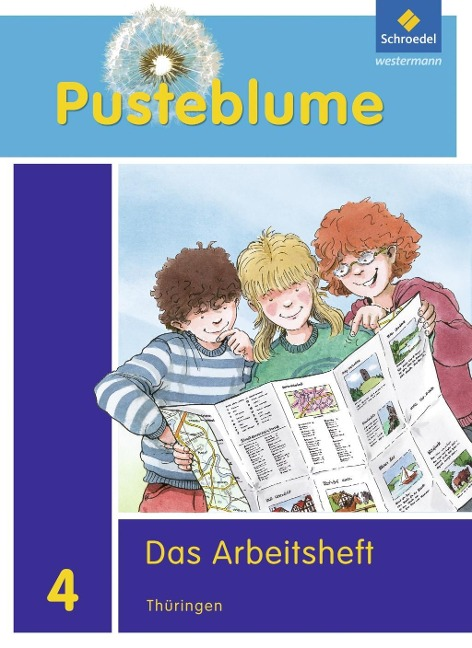 Pusteblume. Das Sachbuch 4. Arbeitsheft. Thüringen -