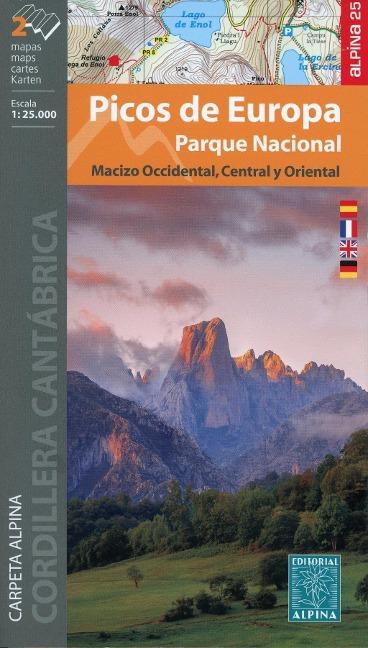 Wanderkarte Nationalpark Picos de Europa 1:25000 -