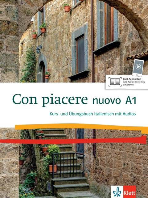 Con piacere nuovo A1. Kurs- und Übungsbuch + 1 CD -