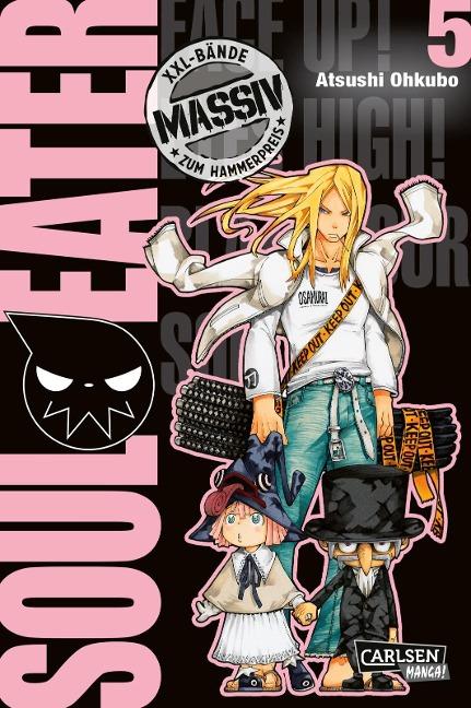 Soul Eater Massiv 5 - Atsushi Ohkubo