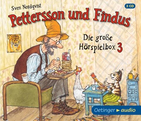 Pettersson und Findus - Die große Hörspielbox 3 (3 CD) - Sven Nordqvist, Dieter Faber, Frank Oberpichler