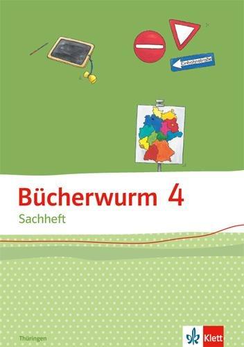 Bücherwurm Sachheft. Arbeitsheft 4. Schuljahr für Thüringen -