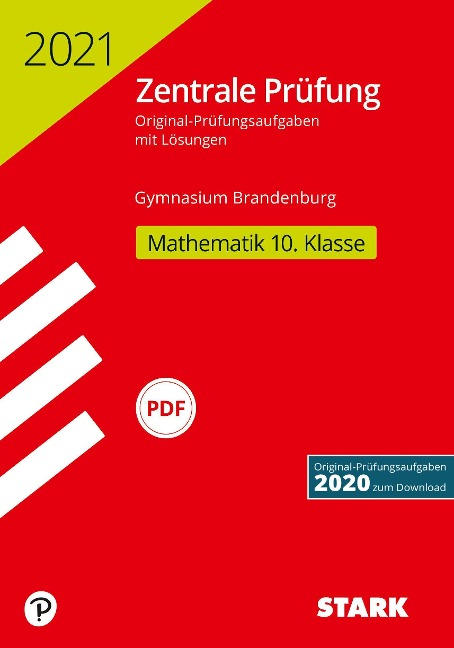 STARK Zentrale Prüfung 2021 - Mathematik 10. Klasse - Brandenburg -