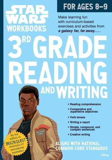 Star Wars Workbook: 3rd Grade Reading and Writing - Workman Publishing, Bridget Heos