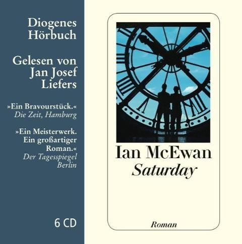 Saturday. 6 CDs - Ian McEwan