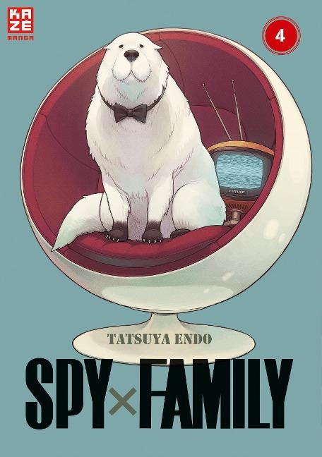 Spy x Family - Band 4 - Tatsuya Endo