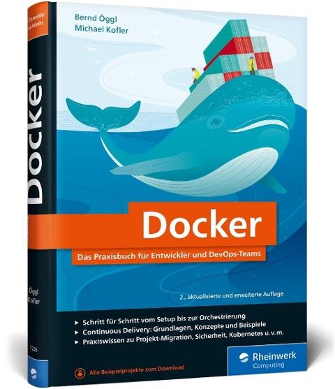 Docker - Bernd Öggl, Michael Kofler