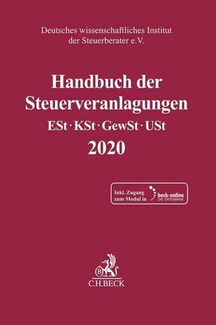 Handbuch der Steuerveranlagungen -