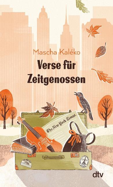 Verse für Zeitgenossen - Mascha Kaléko