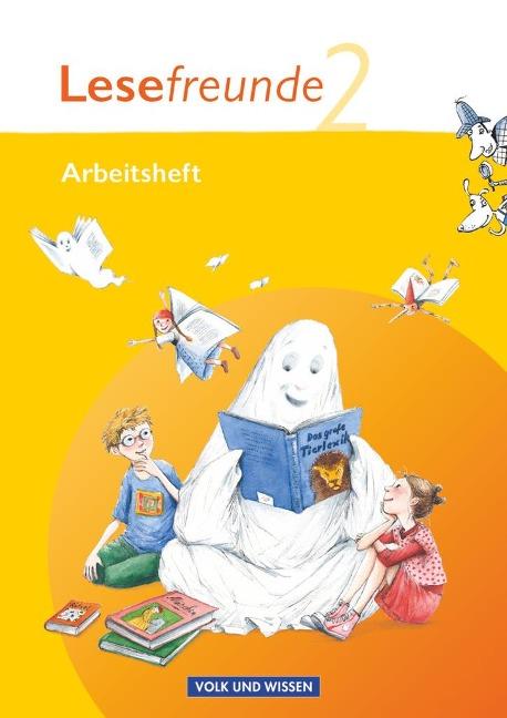 Lesefreunde 2. Schuljahr. Arbeitsheft. Östliche Bundesländer und Berlin - Marion Gutzmann, Irene Hoppe, Kerstin Wehlend