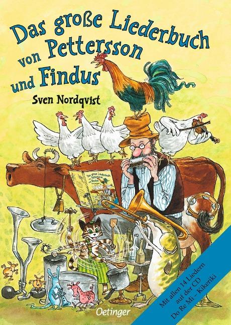 Das große Liederbuch von Pettersson und Findus - Sven Nordqvist