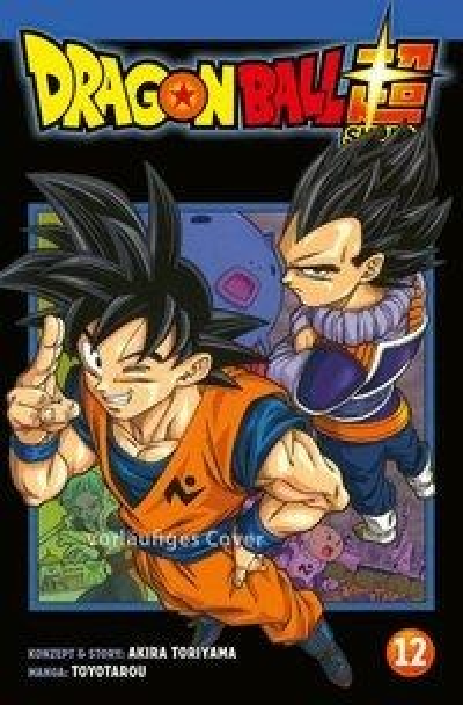 Dragon Ball Super 12 - Toriyama Akira, Toyotarou