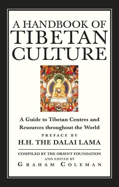 A Handbook Of Tibetan Culture - Graham Coleman