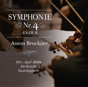 Sinfonie 4 Es-dur,Anton Bruckner - Dir. : Karl Böhm-Sächsische Staatskappelle