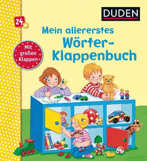 Duden 24+: Mein allererstes Wörter-Klappenbuch -