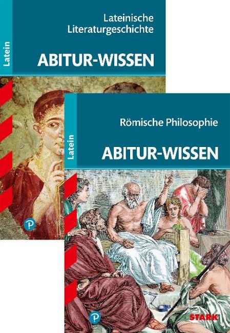 STARK Abitur-Wissen Latein - Römische Philosophie + Lateinische Literatur- geschichte - Tilman Bechthold-Hengelhaupt, Gerhard Metzger
