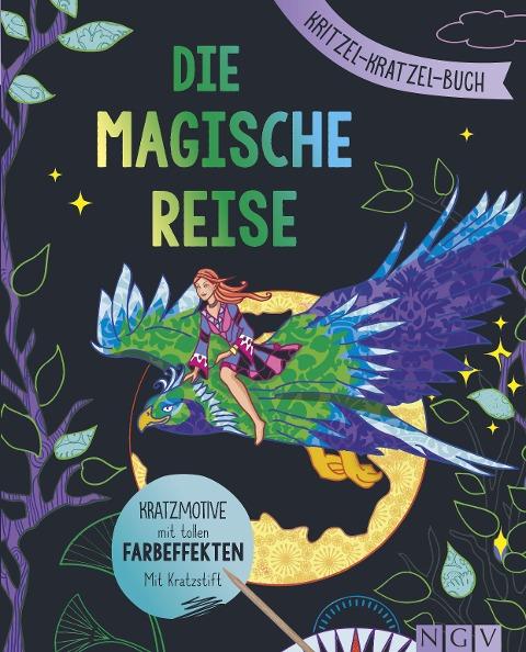 Die magische Reise - Kritzel-Kratzel-Buch -