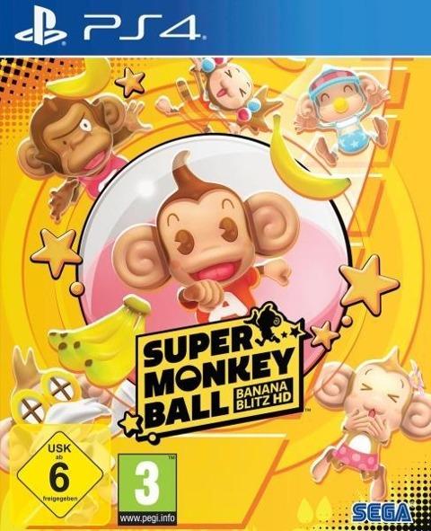 Super Monkey Ball Banana Blitz HD (PlayStation PS4) -