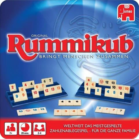 Original Rummikub in Metalldose -
