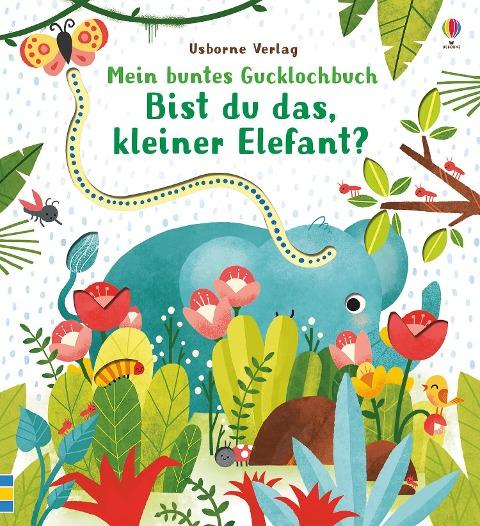 Mein buntes Gucklochbuch: Bist du das, kleiner Elefant? - Sam Taplin