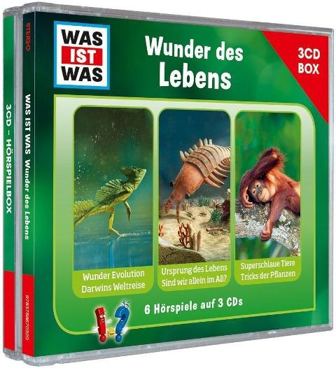 Was Ist Was 3-CD Hörspielbox Vol.10-Leben - Was Ist Was