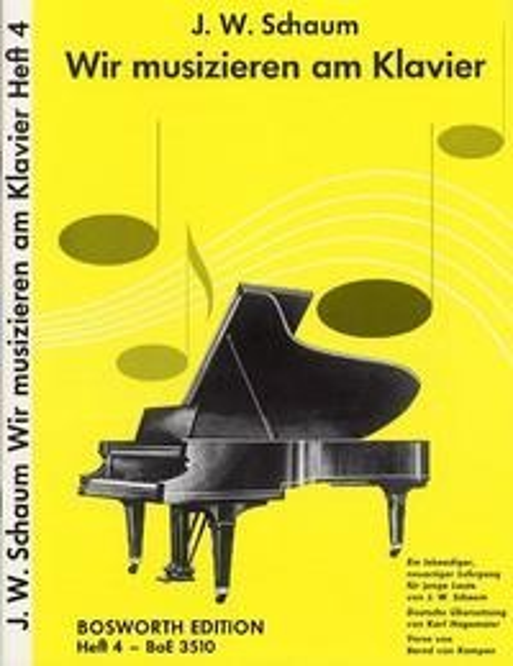 Wir musizieren am Klavier 4 - John W. Schaum