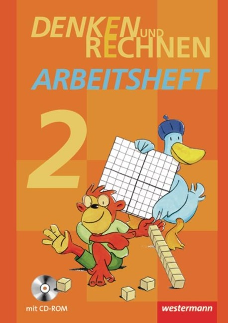 Denken und Rechnen 2. Arbeitsheft mit CD-ROM. Grundschule. Hamburg, Bremen, Hessen, Niedersachsen, Nordrhein-Westfalen, Rheinland-Pfalz, Saarland und Schleswig-Holstein -