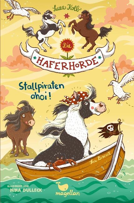 Die Haferhorde 05. Stallpiraten ahoi! - Suza Kolb