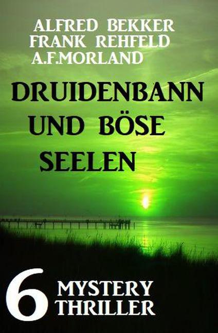 Druidenbann und böse Seelen: 6 Mystery Thriller - Alfred Bekker, A. F. Morland, Frank Rehfeld
