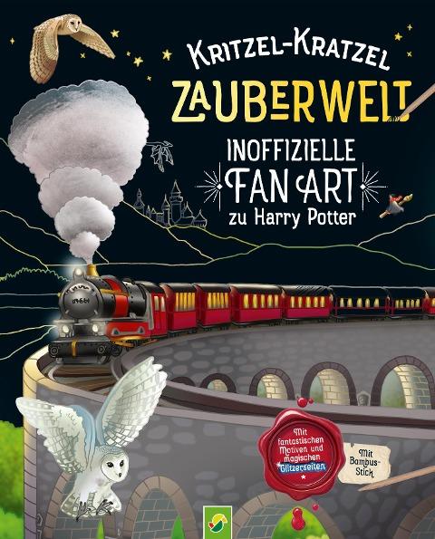 Kritzel-Kratzel Zauberwelt - Inoffizielle Fan Art zu Harry Potter - Katharina Bensch
