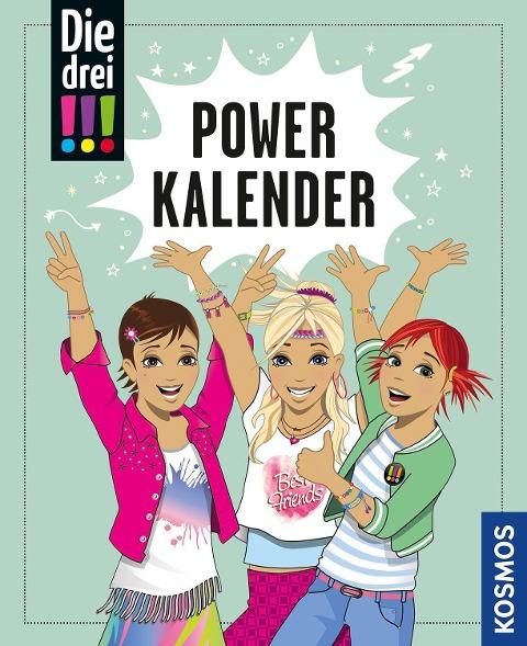 Die drei !!!, Powerkalender -