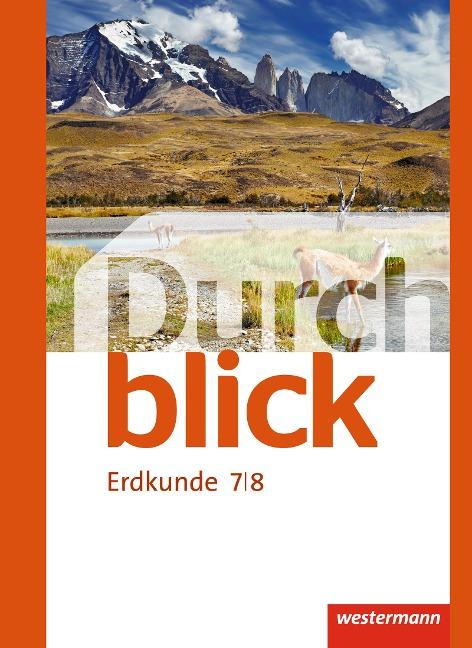Durchblick Erdkunde 7 / 8. Realschule. Niedersachsen -