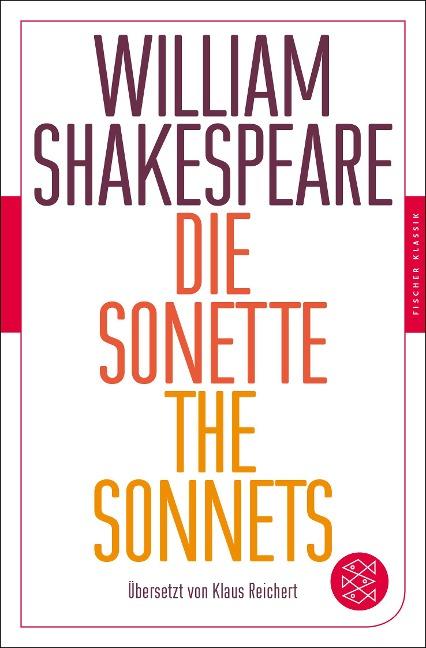 Die Sonette - The Sonnets - William Shakespeare