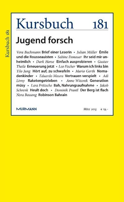 Kursbuch 181 -