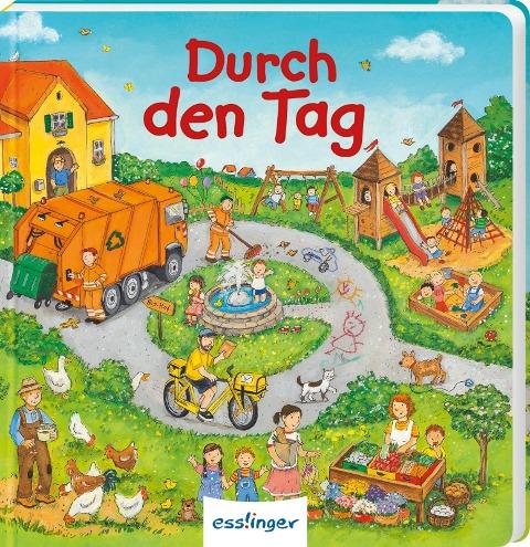 Mein allererstes Wimmelbuch: Durch den Tag (Mini-Ausgabe) - Sibylle Schumann