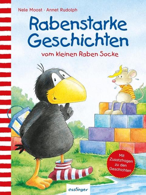 Der kleine Rabe Socke: Rabenstarke Geschichten vom kleinen Raben Socke - Nele Moost