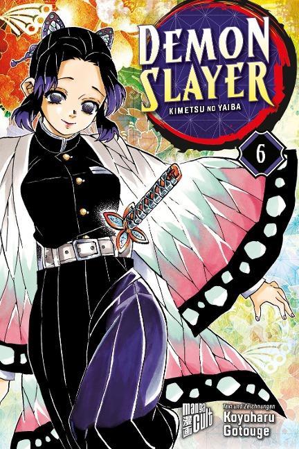 Demon Slayer 6 - Koyoharu Gotouge