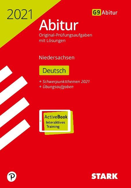 STARK Abiturprüfung Niedersachsen 2021 - Deutsch GA/EA -