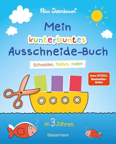 Mein kunterbuntes Ausschneide-Buch - Nico Sternbaum