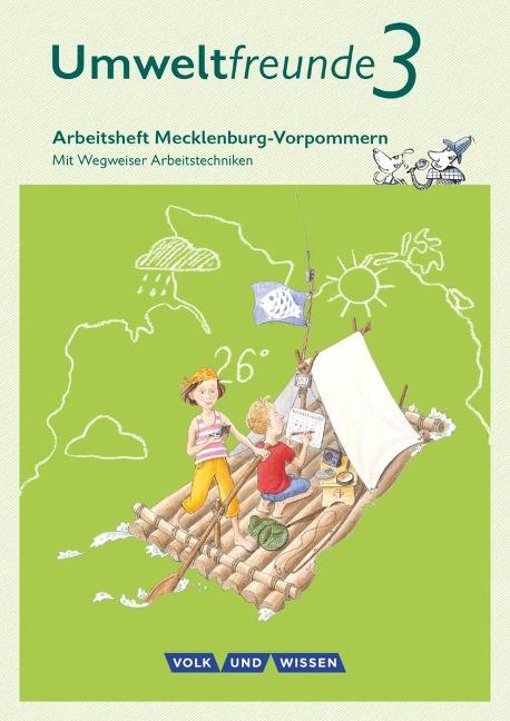 Umweltfreunde 3. Schuljahr - Mecklenburg-Vorpommern - Arbeitsheft - Inge Koch