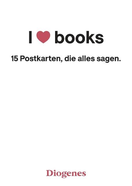 I Love Books -