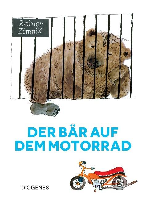 Der Bär auf dem Motorrad - Reiner Zimnik