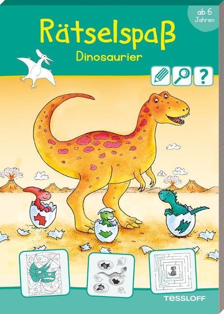 Rätselspaß Dinosaurier ab 6 Jahren -