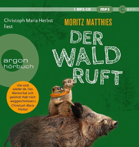 Der Wald ruft - Moritz Matthies