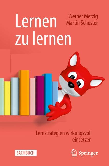 Lernen zu lernen - Martin Schuster, Werner Metzig