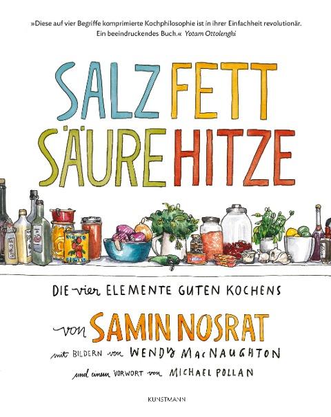Salz Fett Säure Hitze - Samin Nosrat