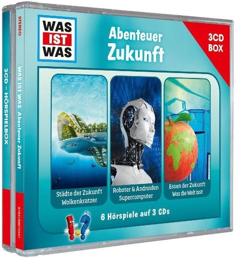 WAS IST WAS 3-CD Hörspielbox. Abenteuer Zukunft -